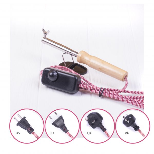 photo soldering iron for flower silk crafting